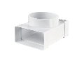 T-JOINT FOR FLAT & ROUND DUCTS 110x55mm