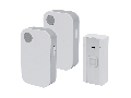 WIRELESS DOORBELL 5023/2 DC 36 MELODIES TWO RECEIVERS