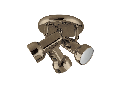 SPOT JACK 3XE14 AURIU ANTIC D180mm
