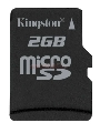Kingston - Card Micro SD 2GB