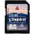 Kingston - Flash Card Class 32GB