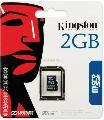 Kingston - Card Mobile, MicroSD, 2GB