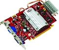 MSI - Placa Video GeForce 8600 GT 512MB