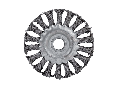 TWIST KNOT WIRE WHEEL BRUSH ANGLE GRIN D150mm
