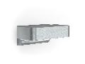 Aplica L 800 LED iHF (argintiu) cu lumina de veghe si senzor de mi?care iHF 160, pentru exterior