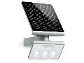 Lampa solara XSOLAR L-S (argintiu), LED, senzor de mi?care PIR, pentru exterior