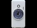 Intrerupator 2P 250V ac - 10AX - WITH KEY - SYMBOL 0/I - 1 MODULE - SYSTEM WHITE