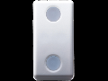 THREE-WAY SWITCH 1P 250V ac - 10AX - WITH REPLACEABLE NEUTRAL LENS - 1 MODULE - SYSTEM WHITE