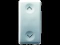 THREE-WAY SWITCH 2P 250V ac - 10AX - NEUTRAL - SYMBOL UP-DOWN - 1 MODULE - SYSTEM WHITE