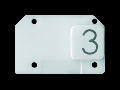 Simbol iluminabil pentru comenzi- THREE - CHORUS