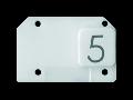 Simbol iluminabil pentru comenzi- FIVE - CHORUS