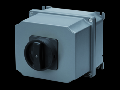Selector rotativ - Montaj aparent - COMMAND - ATEX - carcasa aluminiu - BLACK KNOB - 3P 100A - IP65