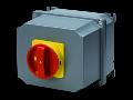 Selector rotativ - Montaj aparent - Emergenta VERSION - ATEX - carcasa aluminiu - RED KNOB - 4P 32A - IP65