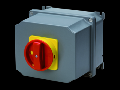 Selector rotativ - Montaj aparent - Emergenta VERSION - ATEX - carcasa aluminiu - RED KNOB - 4P 100A - IP65