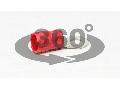 Papuc inelar izolat, cupru electrolitic stanat, rosu PSZ35-8 35mm2, M8, (d1=9,4mm, d2=8,4mm),PVC