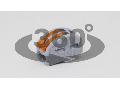 Clema de legaturi fara surub,care poate fi deschisa OVO2,5-2 0,75-4mm2, 32A, 400VAC 2P