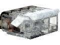 Clema de legaturi fara surub,transp.,care se poate deschide RVON3 0,2-4mm2, 32A, 450VAC 3P