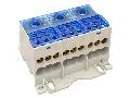 Clema sir distributie cu capac care se poate deschide FLSO50-3P 3×1×50(35)mm2 / 3×6×16(10)mm2, 690VAC/DC, 175 A