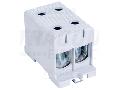 Clema de derivatie, fixare pesina sau contrapanou, gri FLEAL-150/2 35-150mm2, max. 800VAC, max.320A