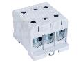 Clema de derivatie, fixare pesina sau contrapanou, gri FLEAL-150/3 35-150mm2, max. 800VAC, max.320A