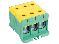 Clema de derivatie, fixare pesina sau contrapanou, V-G FLEAL-150/3ZS 35-150mm2, max. 800VAC, max.320A