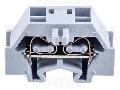 Clema sir industriala cu arcminiatural, fixare cu surub TSKD1,5 400V 18A 0.08-1.5 mm2 2P
