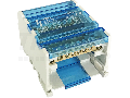 Distribuitor modular cu capaccare se poate deschide FLSO16-4P6 116(10) mm2 / 510(6) mm2, 500VAC/DC, 80A