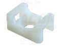 Talpa fixata cu surub pt. fasete,2 dir.de introducere, natur CSTALP-2 23�16mm, d=6,3mm, PA6.6