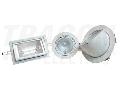 Spot halogen pentru tavan fals, rotund TLH-150 250V AC, max.150W, R7s, 118mm