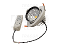 Corp de iluminat LED incastrat, reglabil DLCOBA35WW 230 V, 50 Hz, 35 W, 3250 lm, 2700 K, EEI=A+