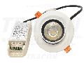 Corp de iluminat LED incastrat, reglabil DLCOBA10W 200-240VAC, 10 W, 800 lm, 4000 K, IP40, EEI=A