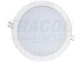 Corp de iluminat cu LED, incorporabil, compact DLC12NW 230VAC, 12W, 4000K, 1050lm. IP20, EEI=A+