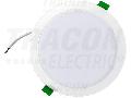 CIL incorporabil cu LED si temp. de culoare reglabila DLETRIO9W 230VAC, 9W, 720lm, 3000/4000/6500K, 110, IP44, EEI=A+