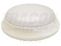 CIL LED protejat,aparent, mat. plastic si detect. de miscare EVAS14NW 100-240V,50Hz,14W,1000lm,4000K,1-8m,10s-12m,IP54,EEI=A