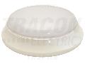 CIL LED protejat,aparent, mat. plastic si detect. de miscare EVAS21NW 100-240V,50Hz,21W,1600lm,4000K,1-8m,10s-12m,IP54,EEI=A