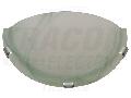 Aplica tavan din sticla, verde, UFO-F-Z 230V, 50Hz, E27, max.1�60W, D=300 mm, EEI=A++,A+,A,B,C,D,E