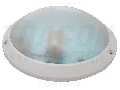 Corp iluminat de perete,prot.,rotund,plat dispersor opal,alb TLKVL-E27 230V, 50Hz, max. 1�60W, E27, IP54