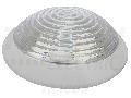 Corp iluminat de perete,protejat,dispersor transparent, alb TLKV-E27 230V, 50Hz, max. 1�60W, E27, IP54, EEI=A++ - E