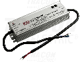 Alimentator LED profesional cu carcasa metalica HLG-150H-12A 90-305 VAC / 12 VDC; 150 W; 0-12,5 A; PFC; IP65