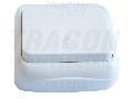 Buton cu pictograma iluminat, pe tencuiala (pentru tapet) TTK-04L 10AX/250VAC, IP20 (N101)