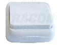 Buton cu pictograma WC, pe tencuiala (pentru tapet) TTK-04W 10AX/250VAC, IP20 (N101)
