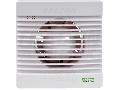 Ventilator de baie, rulment cu bile,temporizator, jaluzele v VF100-BTS 230 VAC, 15W, 80 m3/h, 33 dB,100 mm