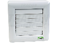 Ventilator de baie cu jaluzele aut.,rulment, temp., s.umid. VFM100-BTH 230 VAC, 15W, 80 m3/h, 33 dB,100 mm