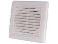 Jaluzea fixa cu grila de exterior pentru ventilator de baie VFS100 151�151�45mm, D=96mm