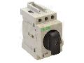 Intrerupator separator modular cu zavorare prin lacat EVOMS16/3 400V, 50Hz, 16A, 3P, 10mm2