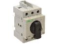 Intrerupator separator modular cu zavorare prin lacat EVOMS100/3 400V, 50Hz, 100A, 3P, 25-50mm2