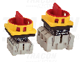 Intrerupator separator de siguranta cu zavorare prin lacat TSS-20/4 400V, 50Hz, 20A, 4P, 5,5kW, 48×48mm
