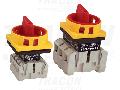 Intrerupator separator de siguranta cu zavorare prin lacat TSS-40/3 400V, 50Hz, 40A, 3P, 11kW, 64×64mm