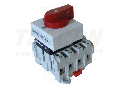 Intrerupator separator modular cu zavorare prin lacat TSM-20/3 400V, 50Hz, 20A, 3P, 5,5kW, 42×42mm