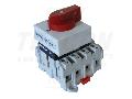 Intrerupator separator modular cu zavorare prin lacat TSM-20/4 400V, 50Hz, 20A, 4P, 5,5kW, 55,5×55,5mm